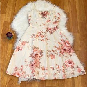 Cute Ruby Rox Floral Dress size 11